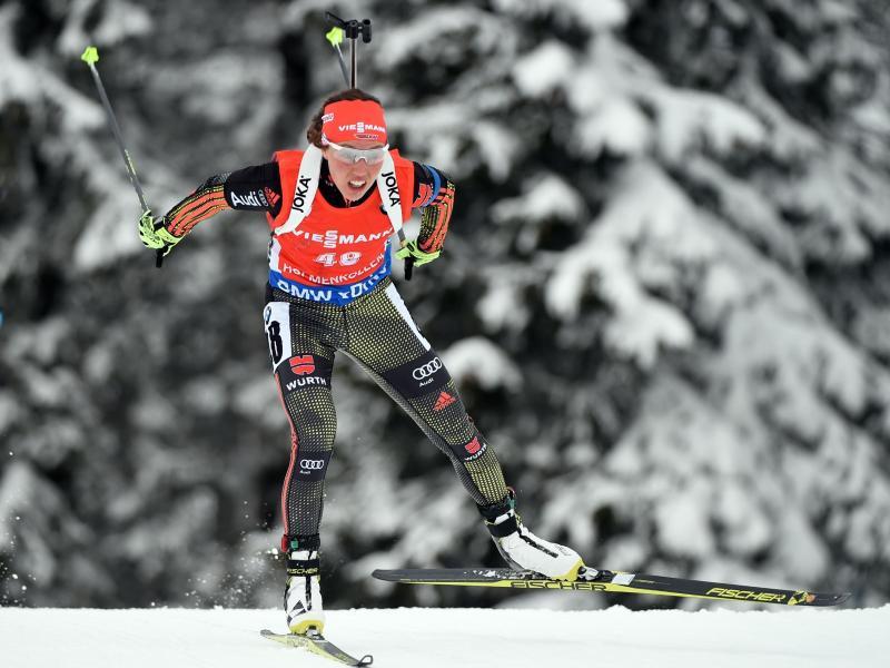 Dahlmeier holt Sprint-Bronze bei Biathlon-WM