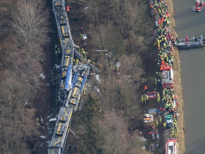 «Spiegel»:Kein Funkloch beim Zugunglück von Bad Aibling