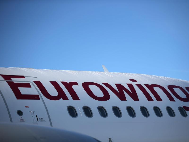 Eurowings-Flugbegleiter: Streiks ab Montag möglich