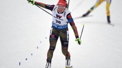 Biathletin Dahlmeier holt im Einzel WM-Bronze