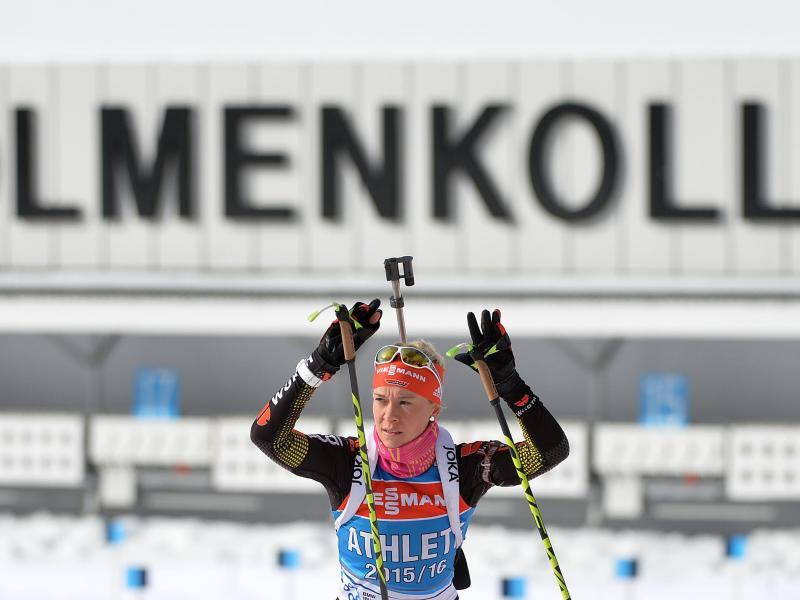 Biathlon-WM: Hammerschmidt erhält vierten Staffelplatz
