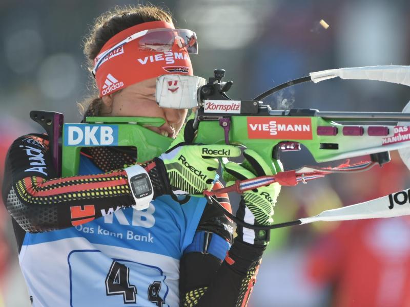 Damen-Staffel gewinnt Bronze bei Biathlon-WM