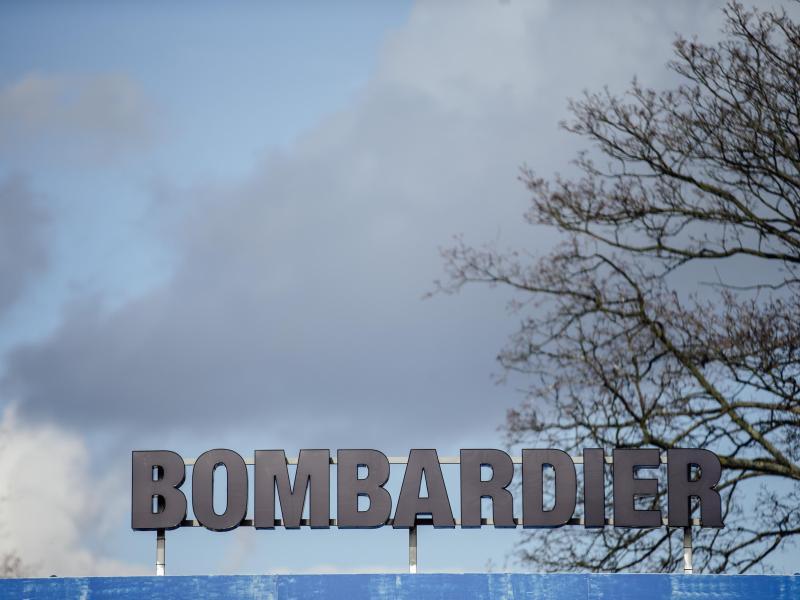 Bombardier-Arbeiter protestieren gegen Stellenabbau