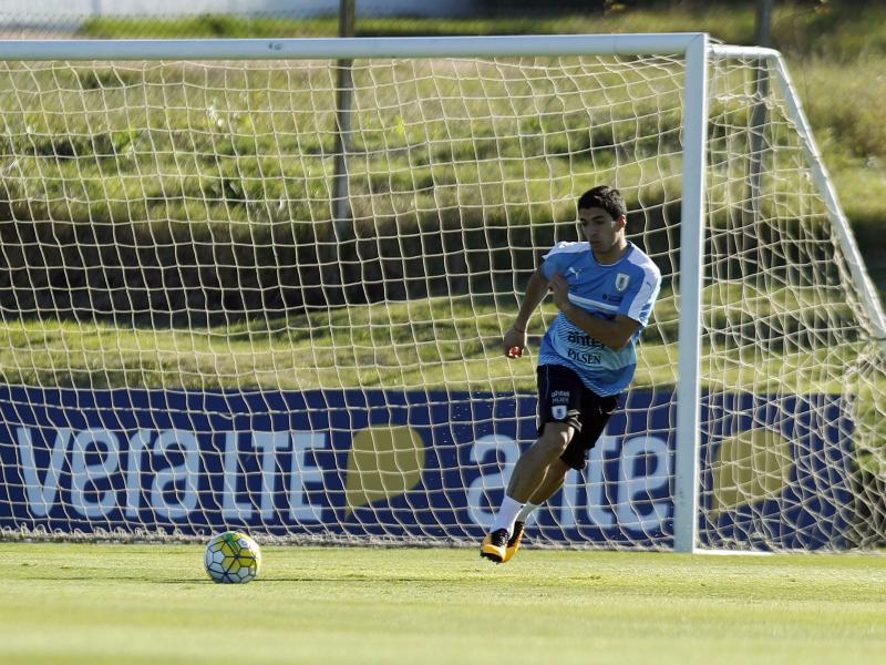 Suárez nach zwei Jahren zurück im Uruguay-Team