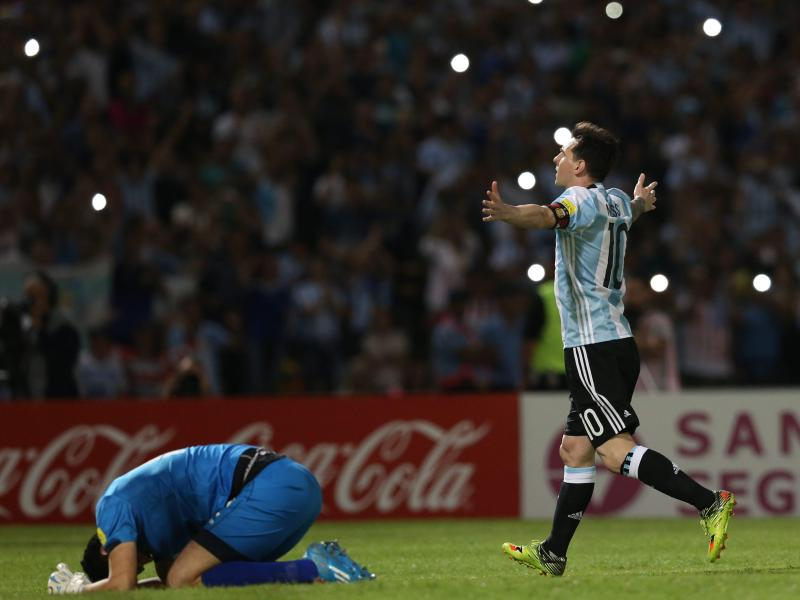 Argentinien mit Messi auf dem Vormarsch – Brasilien patzt