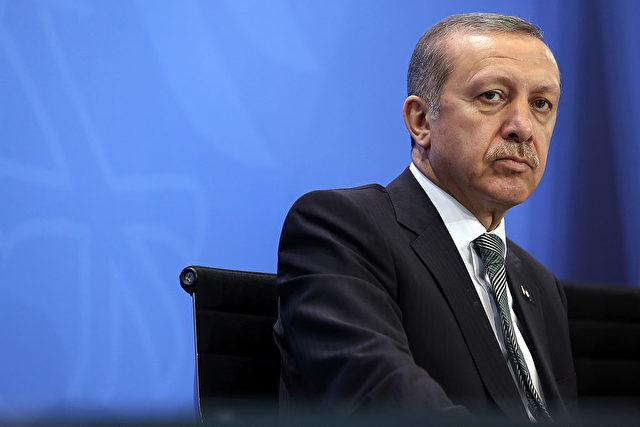 Der türkische Ministerpräsident Recep Tayyip Erdogan in der Bundeskanzlei am 4. Februar 2013 in Berlin. Foto: Adam Berry / Getty Images