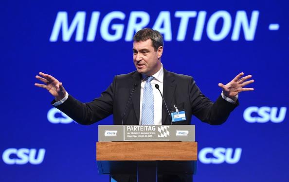 Markus Söder. Foto: CHRISTOF STACHE/AFP/Getty Images