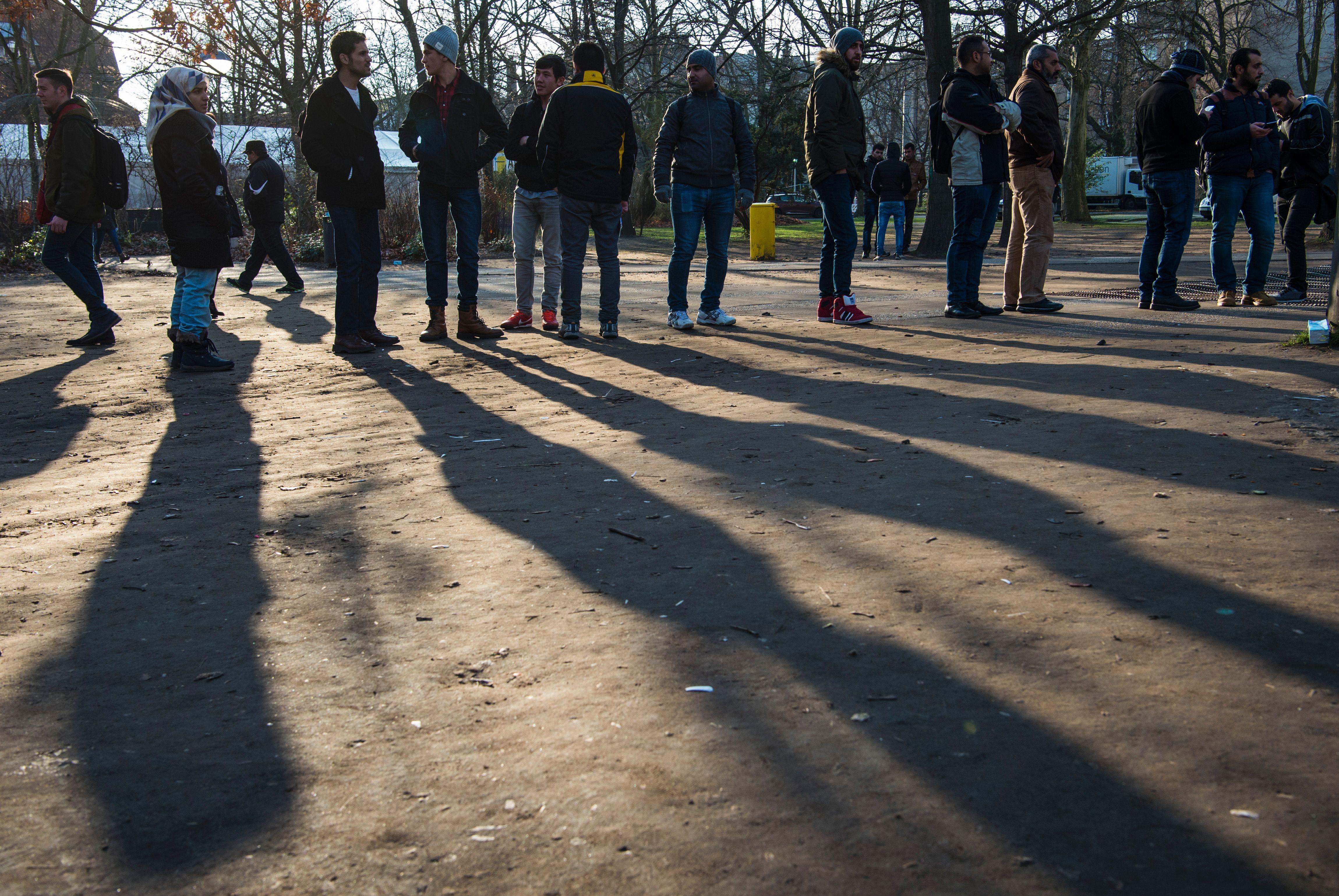 Hälfte der Syrer in Deutschland will Obergrenze