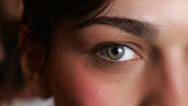 Menschen Mit Grünen Augen