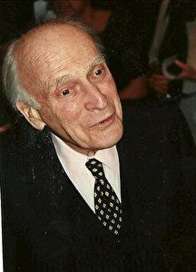 Yehudi Menuhin März 1996 in München