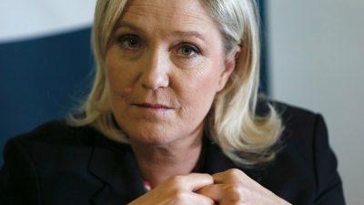 """Marine Le Pen zur US-Wahl: """"Hillary Clinton bedeutet Krieg, Zerstörung, Destabilisierung"""""""