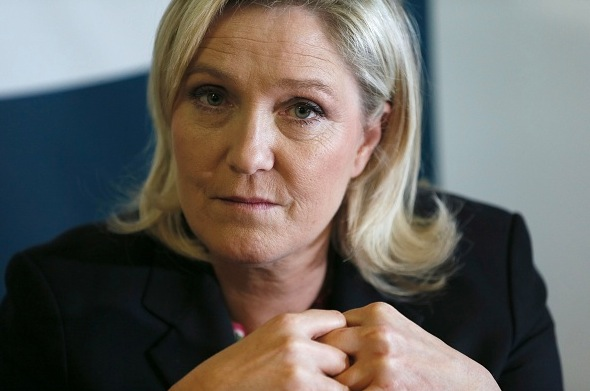 "Marine Le Pen, Chefin des ""Front National"" in Frankreich Foto: PATRICK KOVARIK/Getty Images"