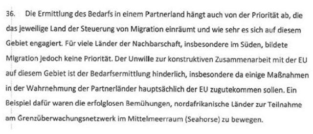 Screenshot des Sonderberichts des EU-Rechnungshofs