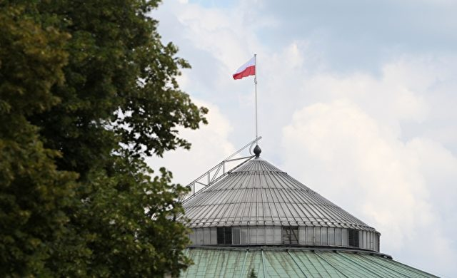 Polnisches Parlament in Warschau Foto: über dts Nachrichtenagentur