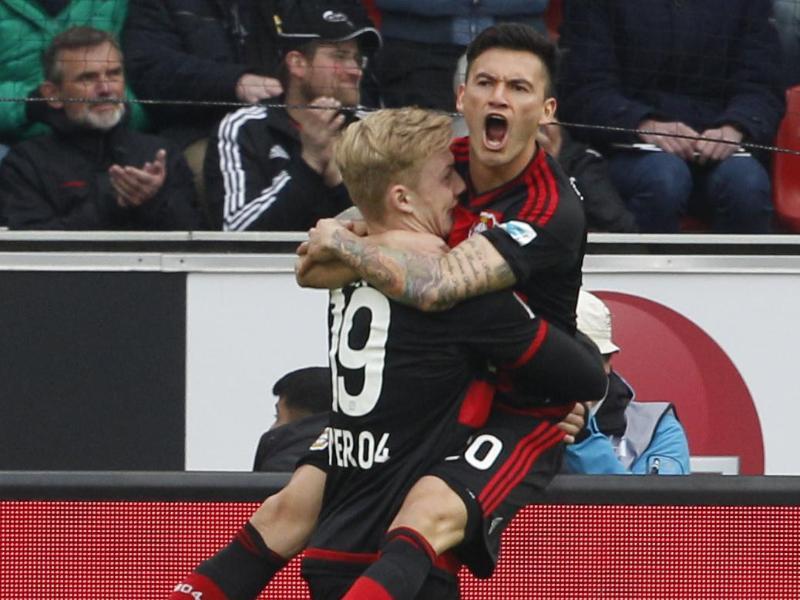 Bayer macht Champions-League-Einzug perfekt