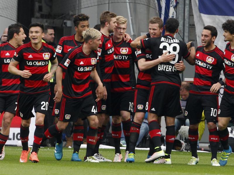 Bayer Leverkusen macht Champions-League-Einzug perfekt