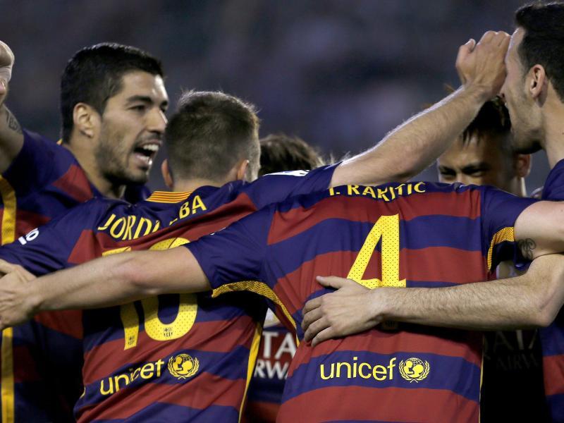 Dreikampf in Spanien:Barcelona,Atlético und Real siegen