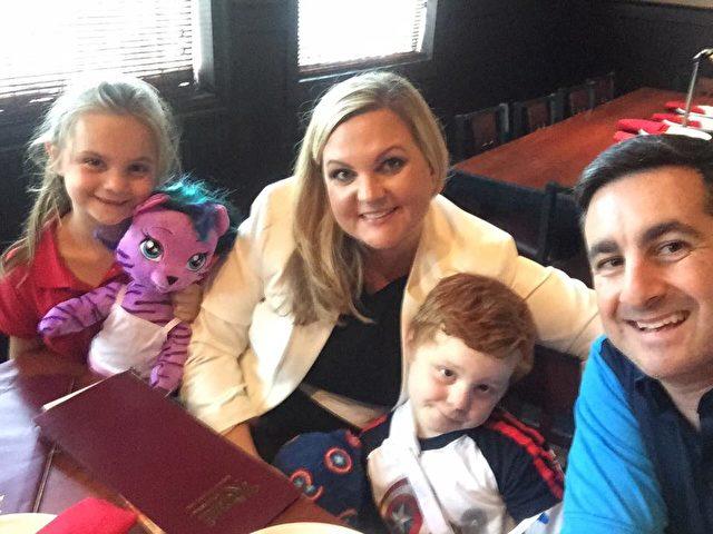 Die Familie DeLuca aus Florida.
