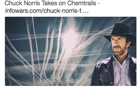 "Massenimfpung per Flugzeug: Chuck Norris berichtet in ""Sky Criminals"" über Chemtrails & Co"