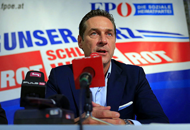 FPÖ-Chef Heinz-Christian Strache Foto: Getty Images