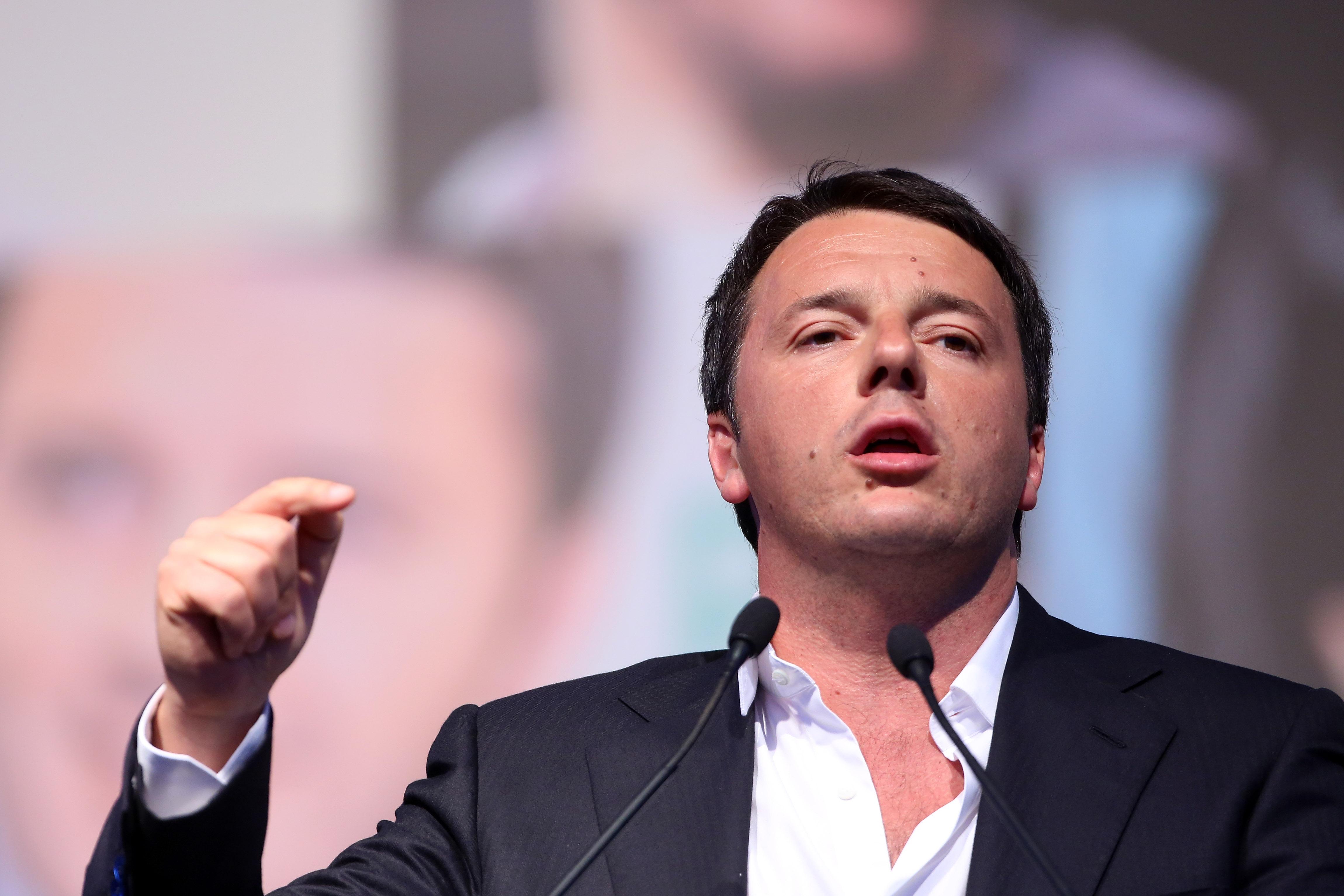 Streit um Flüchtlinge: Renzi droht mit Veto gegen EU-Haushalt