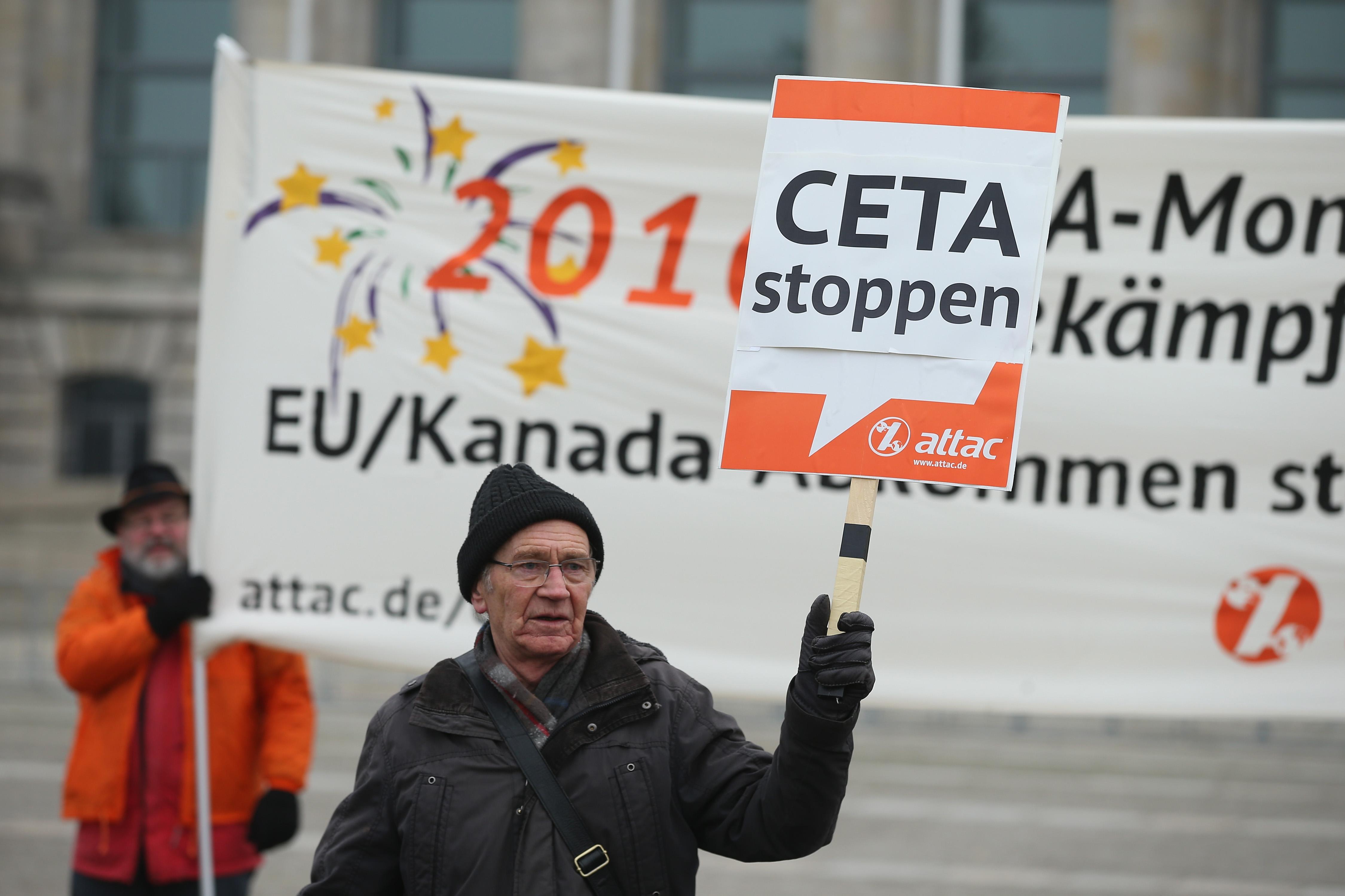 Liegt CETA in der alleinigen Kompetenz der EU?