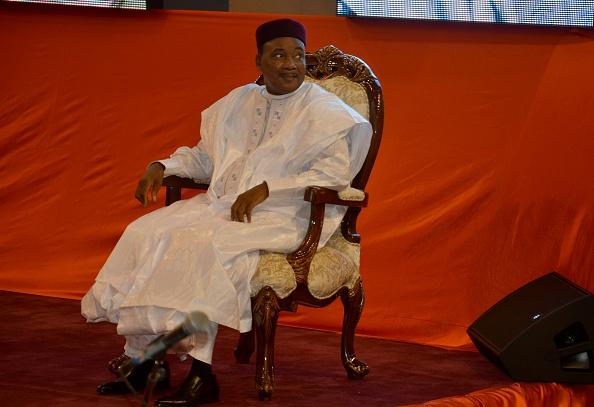 Mahamadou Issoufou, Präsident des Niger Foto: BOUREIMA HAMA/AFP/Getty Images