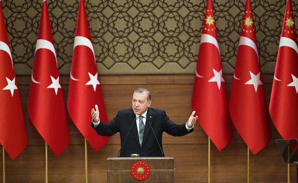 Präsident Erdogan, Türkei Foto: ADEM ALTAN/AFP/Getty Images