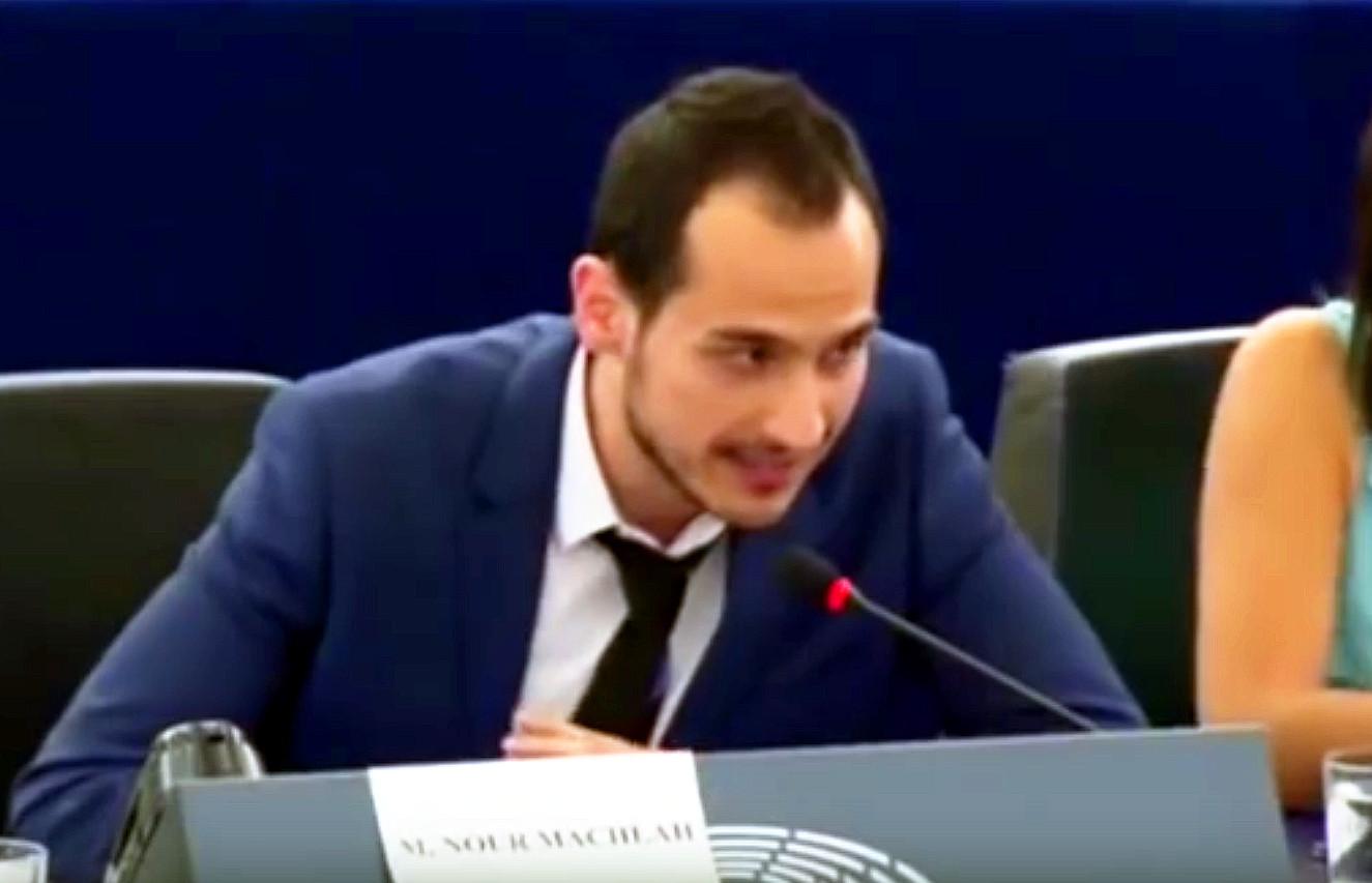 """Syrer im EU-Parlament: Fangt endlich an, nachzudenken! – """"Beendet den Krieg!"""""""