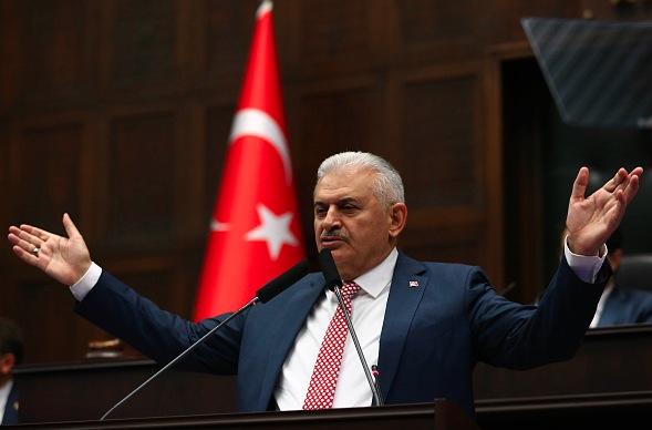Der neue türkische Premierminister Binali Yildrim Foto: ADEM ALTAN/Getty Images