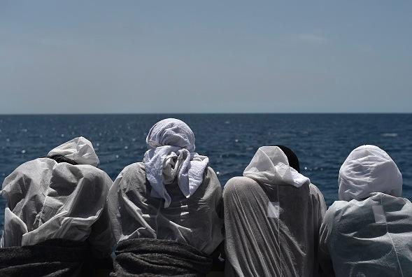 Flüchtlingskrise Foto: GABRIEL BOUYS/Getty Images