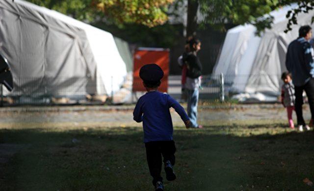 """Flüchtlinge in einer """"Zeltstadt"""" Foto: über dts Nachrichtenagentur"""