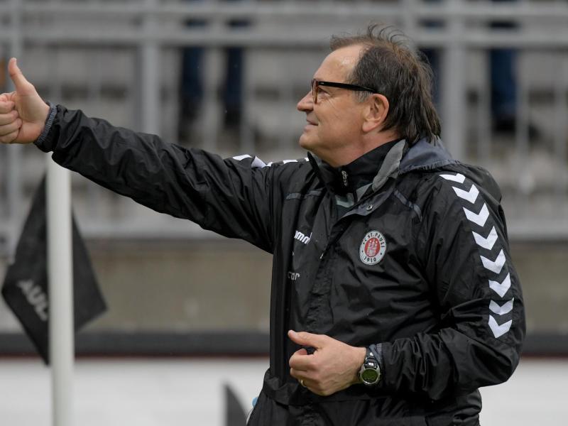 FCSt. Pauli verlängert mit Lienen vorzeitig bis 2018