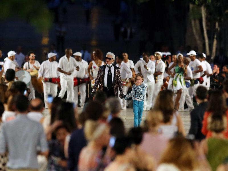 Glamour und Revolution: Chanel-Show in Havanna