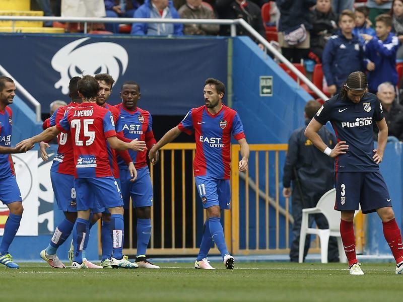Bayern-Bezwinger Atlético patzt – Barça und Real siegen