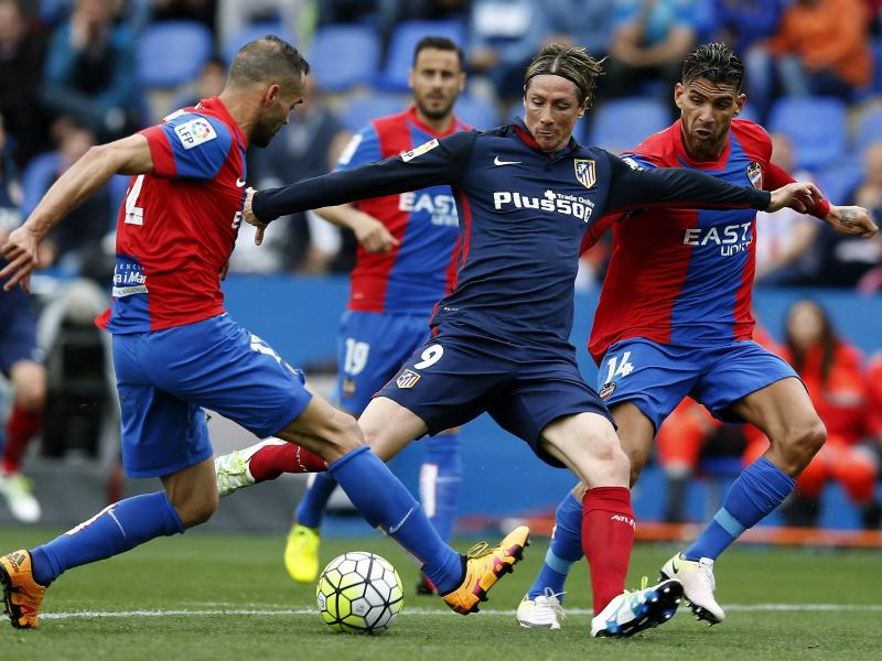 Atlético sagt dem Titelkampf in Spanien «adiós»