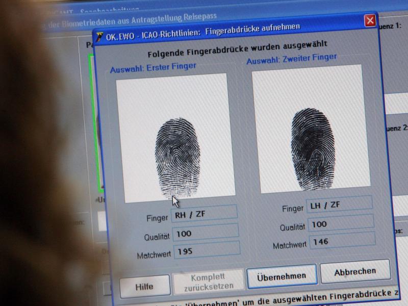 EU-Parlament stimmt endgültig für Fingerabdrücke in Personalausweisen