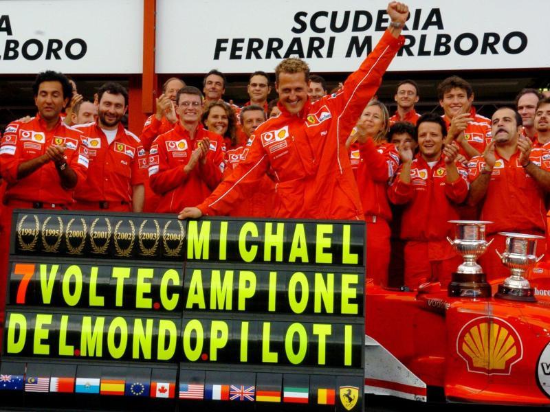 20 Jahre nach Schumis 1. Ferrari-Sieg