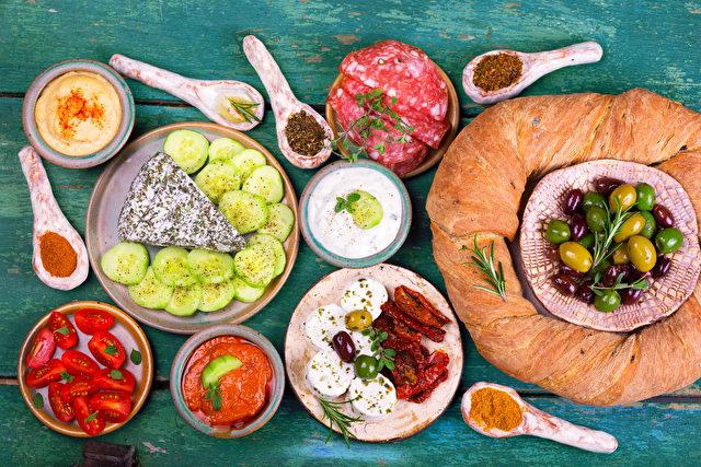 Mediterrane Ernährung verbessert den allgemeinen Gesundheitszustand, senkt die Sterblichkeitsrate Foto: fotolia.com/mediterrane Ernährung