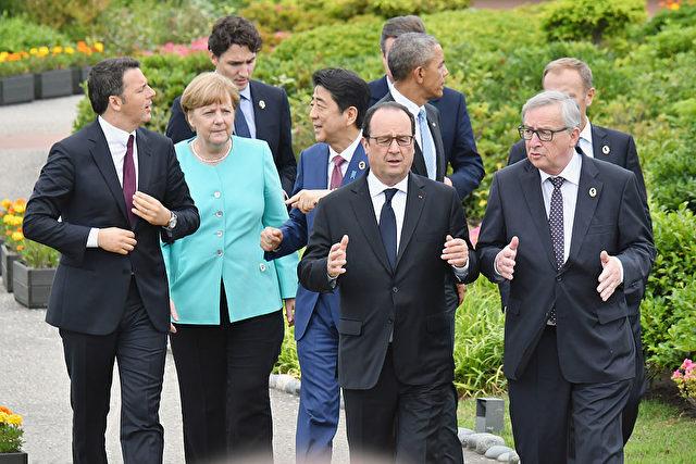 G7 in Japan.