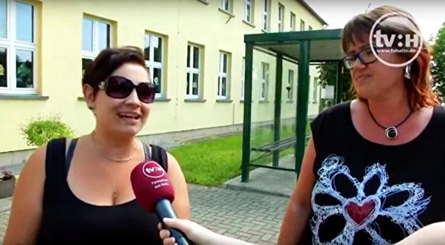 Mütter aus der Region lassen ihre Kinder nicht mehr allein aus dem Haus. Screenshot Youtube / Halle TV