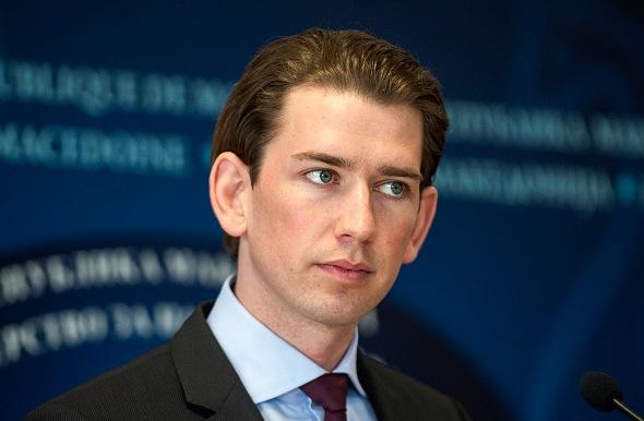 Österreichischer Außenminister Sebastian Kurz. Foto: ROBERT ATANASOVSKI/Getty Images