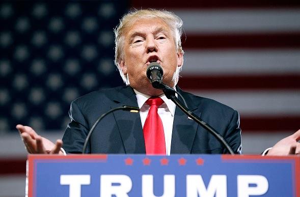 US-Präsidentschaftskandidat Donald Trump Foto: Ralph Freso/Getty Images