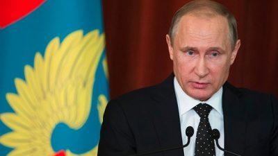 Putin: Terrorismus größte Gefahr für globale Sicherheit – Russland für gemeinsamen Wirtschaftsraum mit EU