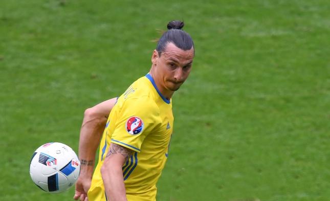 Fußball-EM: Schweden unterliegt Italien in letzter Minute