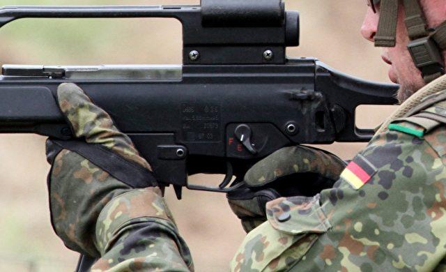 Bundeswehr-Soldat mit G36 Foto: über dts Nachrichtenagentur