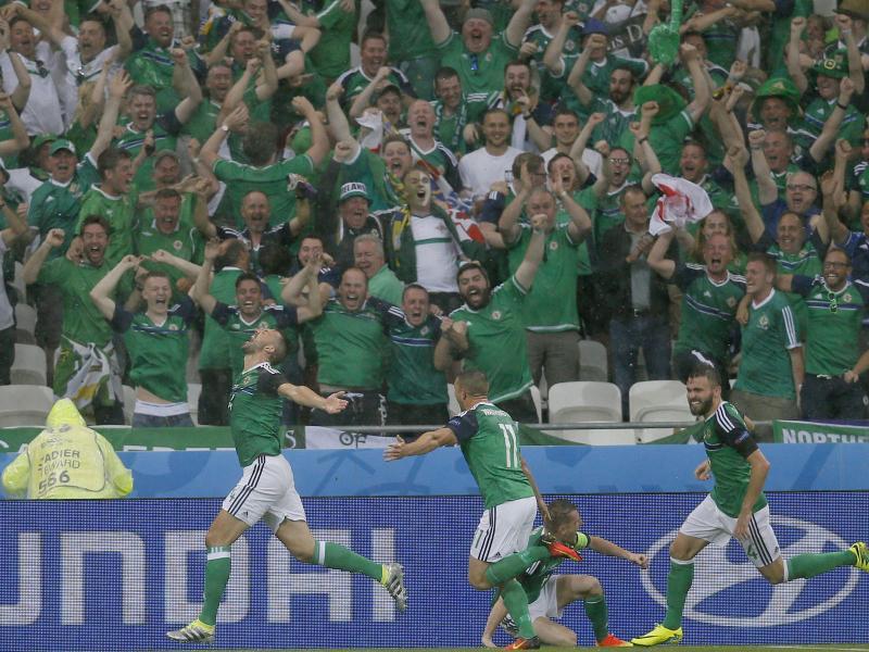 Histroischer Sieg für Nordirland – 2:0 gegen die Ukraine