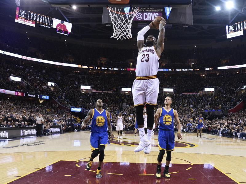 NBA: Cleveland erzwingt gegen Golden State siebtes Spiel