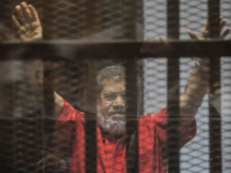 Verrat von Staatsgeheimnissen: Lebenslang für Ägyptens Ex-Staatschef Mursi