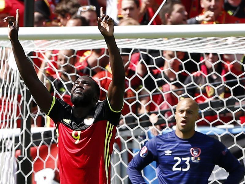 Lukaku weckt Belgien: Achtelfinale nach 3:0-Sieg in Sicht